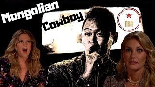 The Mongolian Cowboy STUNS Faith Hill - Enkh Erdene's World's Best Audition