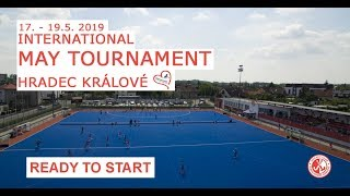 Ready to start - II. International May tournament Hradec Králové