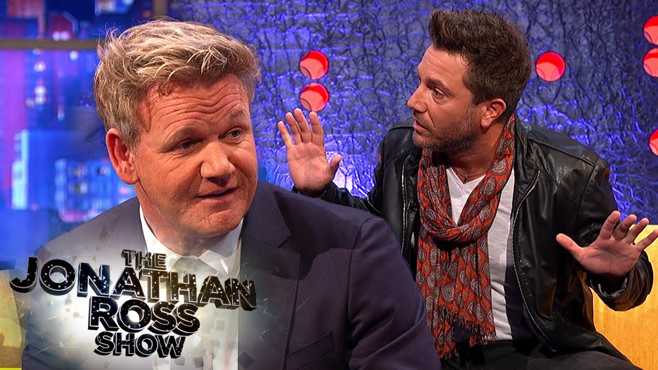 Download Gordon Ramsay Confronts Gino's Naked Night Terrors   The Jonathan Ross Show