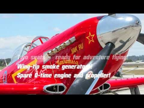 Yakovlev Yak 9 for Sale - Classic Aircraft Sales Ltd.