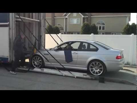 College Cars Chicago shipping M3 to California