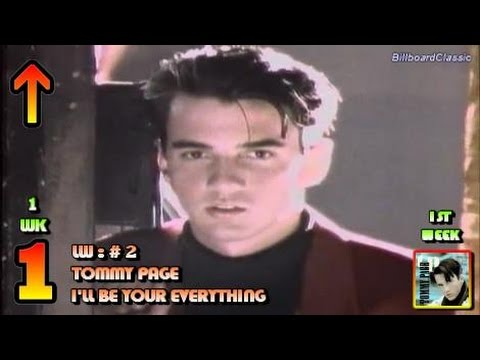 4.14.1990 - Top 10 Chart - Tommy Page's no.1 song