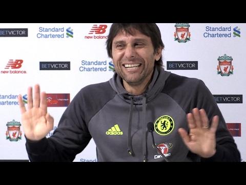 Liverpool 1-1 Chelsea - Antonio Conte Full Post Match Press Conference