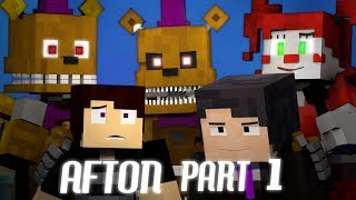 BRINGING US HOME FNAF 4 Minecraft Music Video Afton Part 1 3A Display Song by TryHardNinja
