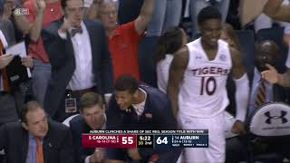 AUBURN VS SOUTH CAROLINA MBB HIGHLIGHTS