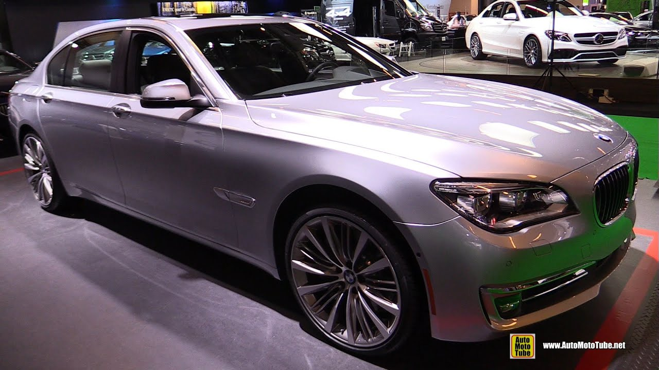 2015 bmw 7 series 750li xdrive - exterior and interior walkaround