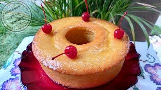 La Famosa Receta  con 2 huevos 🥚  de pastel de Naranja que ha alcanzado Millones de Visitas !! 😋 😋 �