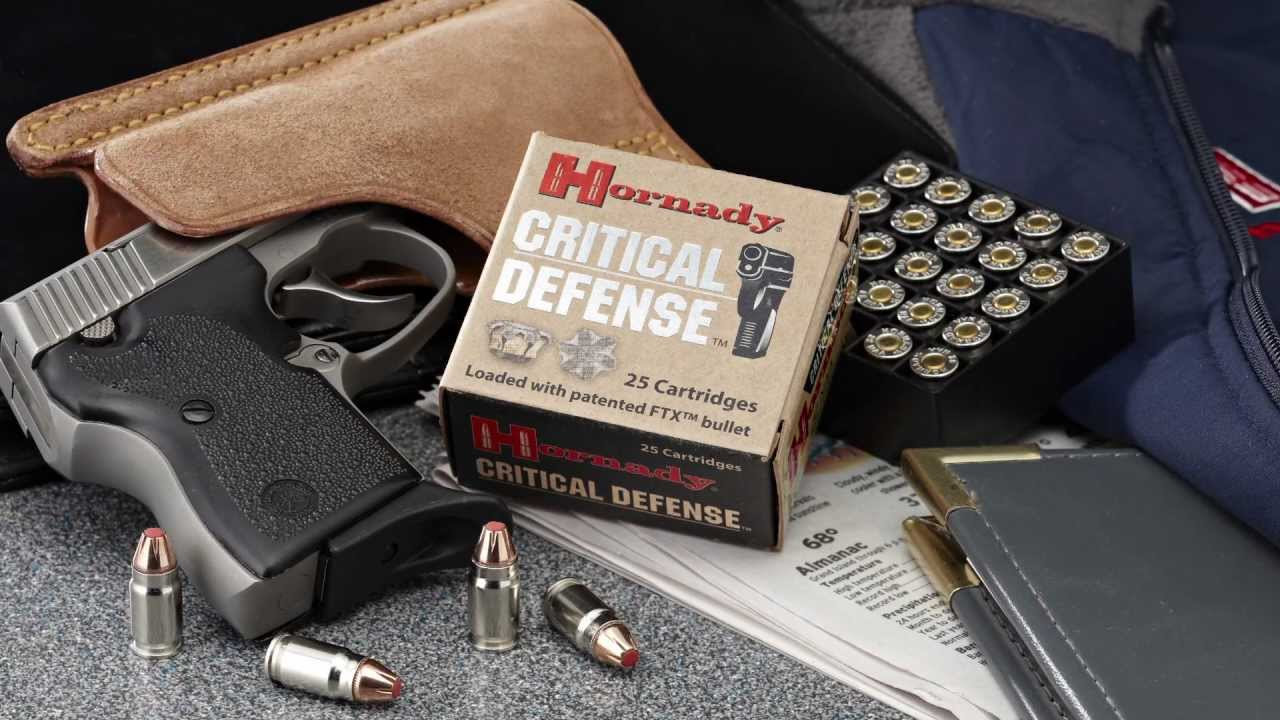 Critical Defense® 32 NAA from Hornady®