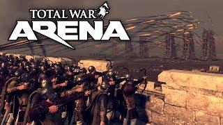 TOTAL WAR: ARENA ⚡ Лучники Варваров Не Щадят Никого!
