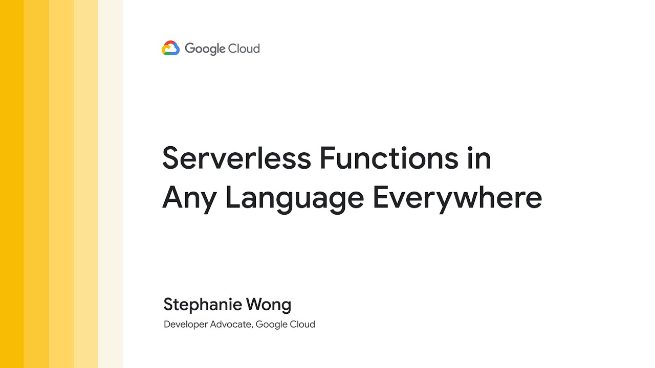Serverless functions in any language everywhere