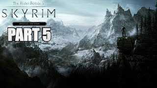 Skyrim Special Edition Walkthrough Part 5 - LANDSCAPE FOOTSLAPPING - PC Gameplay 1080p 60fps