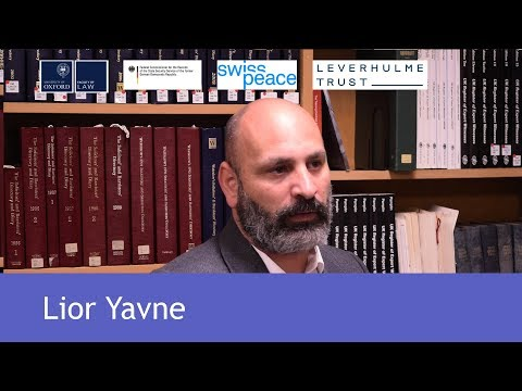 Lior Yavne on the work of the digital Akevot Archive in Israel
