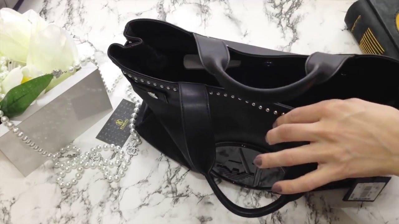 Обзор сумки Armani Jeans | Komilfo - YouTube