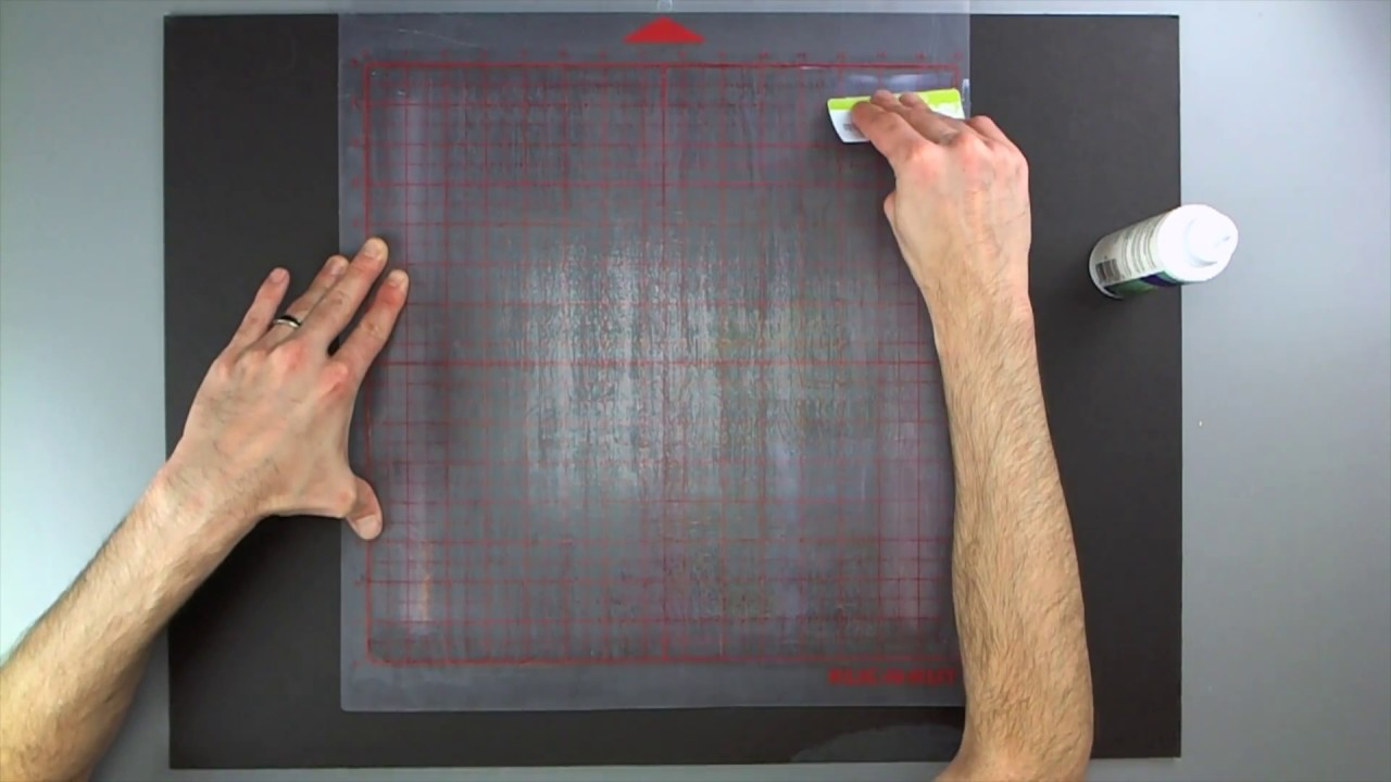 How To Restick Your Cutting Mat New Aleene S Method
