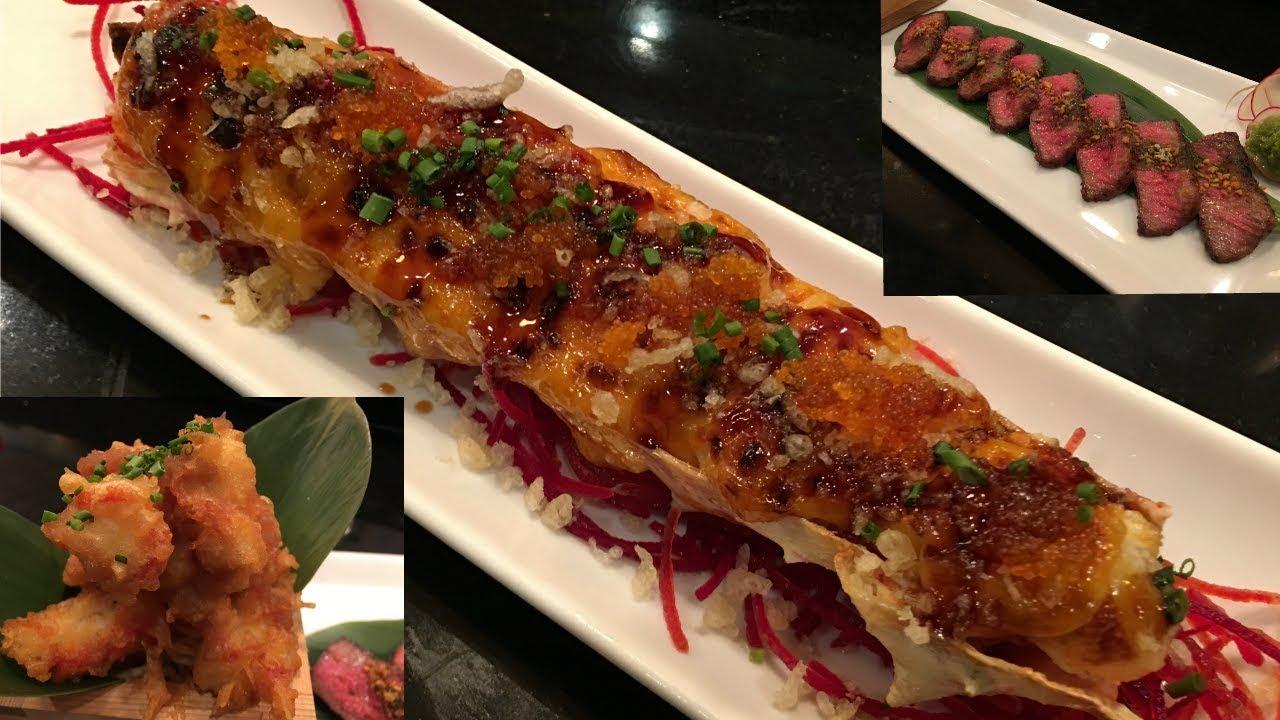 Lets Make King Crab Sushi-Video