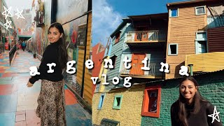 travel with me to ARGENTINA! (vlog)