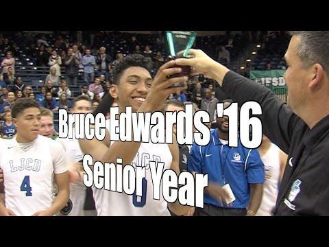 Bruce Edwards '16 La Jolla Country Day Senior Year