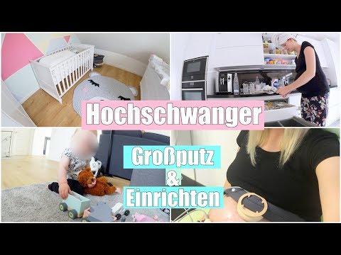 Erste schmerzhafte Wehen! 😢 | Babyzimmer dekorieren & Stillecke ...