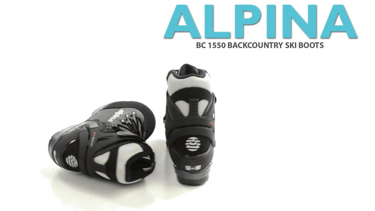 Alpina BC Backcountry Ski Boots Insulated BC NNN For Men - Alpina 1550