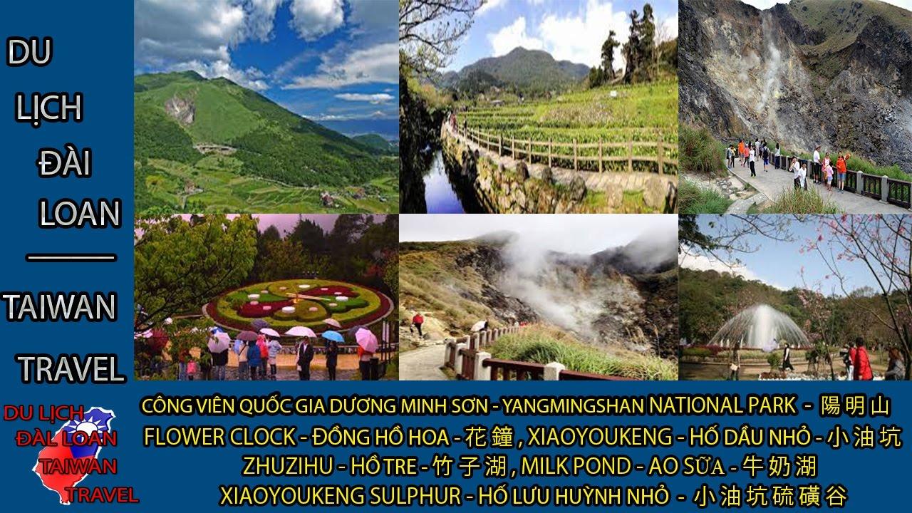 Du lịch Đài Loan - Taiwan travel:CÔNG VIÊN QG NÚI DƯƠNG MINH-YANGMINGSHAN NATIONAL PAR - 陽明山 TẬP 32