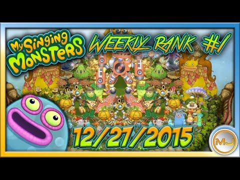 My Singing Monsters - [HQ Audio] Weekly Rank #1 FULL SONG (December 27 2015)