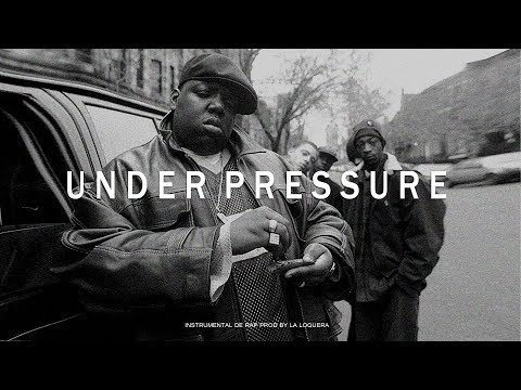 UNDER PRESSURE - BASE DE RAP / OLD SCHOOL HIP HOP INSTRUMENTAL USO LIBRE (PROD BY LA LOQUERA 2017)