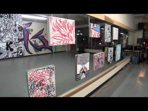 Street Art Exchange @ Downtown Fullerton Art Walk [CF Dance Academy   Lil Rock]