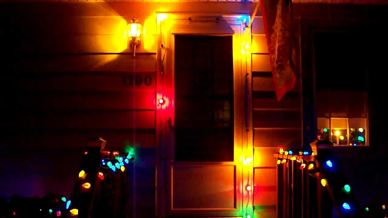 vintage c 9 twinkle christmas lights from 1960 39 s 12 17 13 youtube. Black Bedroom Furniture Sets. Home Design Ideas