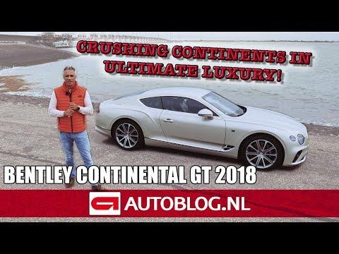 Bentley Continental GT (2018) rijtest