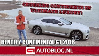 Bentley Continental GT (2018) rijtest