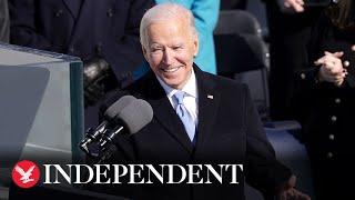 President Biden's inauguration speech in full