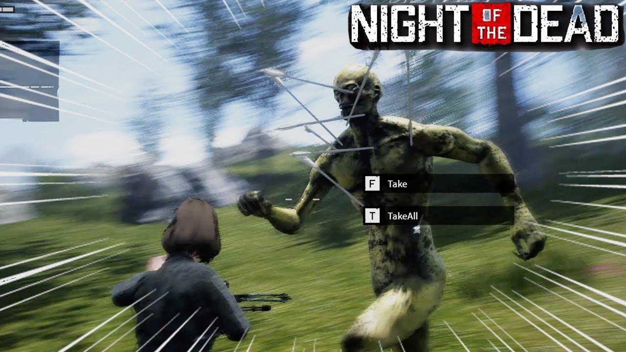 【Night of the Dead#6】強過ぎてゲームバランス崩壊寸前のゾンビにただシバかれる動画【ホラー】