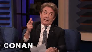 Martin Short Reads A List Of Things He Learned From Steve Martin - CONAN on TBS