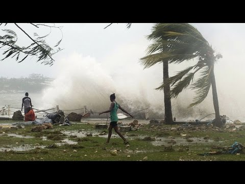 Vanuatu Blames Global Warming as Cyclone Causes Nation's Worst Climate Disaster in Recent Memory