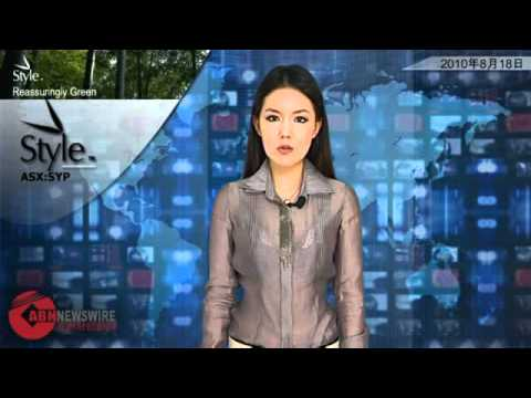 ABN Newswire Australian Market Report of August 18, 2010: Style (ASX:SYP) China Breakthrough