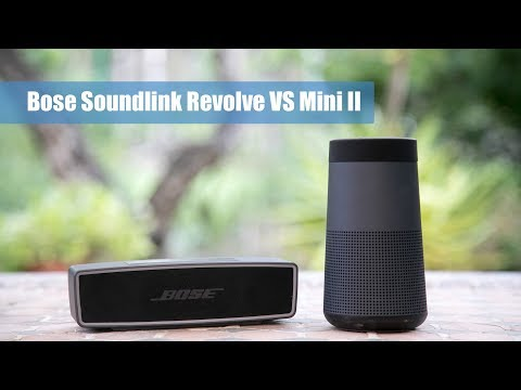 Comparativa: Bose Soundlink Revolve VS Bose Soundlink Mini II