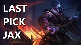 Last Pick: Top Jax