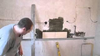 Укладка плитки ,кухонный  фартук  часть2(, 2014-01-17T20:54:56.000Z)
