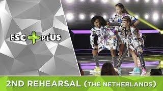 junior eurovision 2016 the netherlands kisses kisses dancin 2nd rehearsal