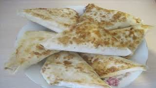 Лаваш с колбасой, сыром и помидором  Надюша сказала ЛАЙК
