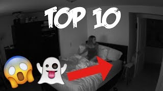 Top 10 SCARIEST ghost encounters!