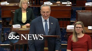 Schumer delivers opening impeachment statement | ABC News