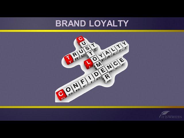 September 18, 2021. Brand Loyalty By DJ Jacobson