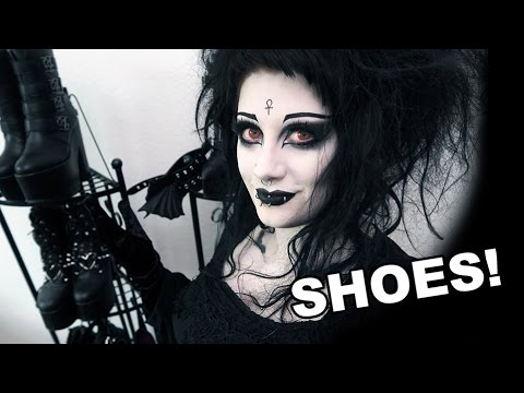 Huge Gothic Shoe & Boot Collection! | Black Friday