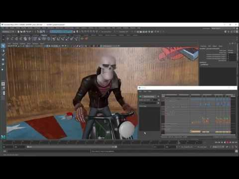 Animation Workflow in Maya 2018