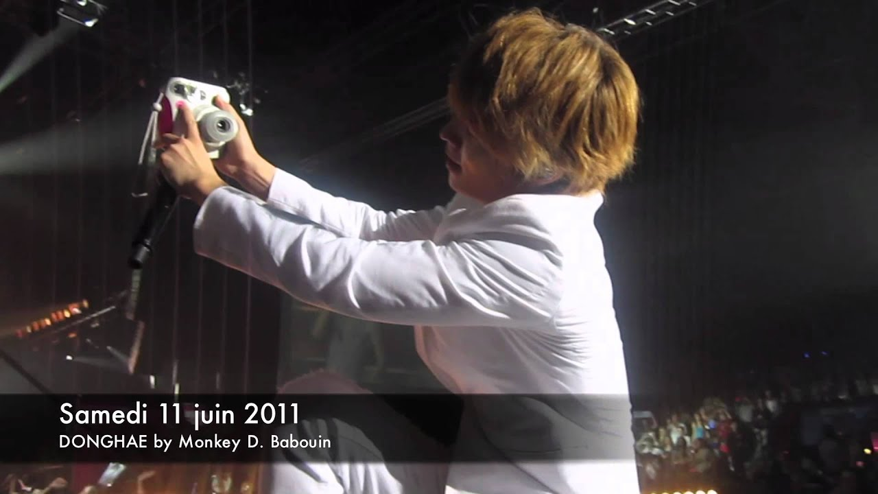 [FANCAM] SM TOWN Paris 2011 - with Donghae