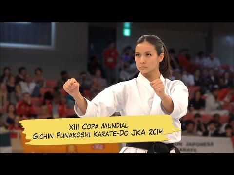 XIII Copa Mundial Gichin Funakoshi Karate-Do JKA 2014