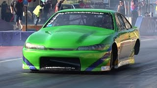 MR ENFORCER ENGINEERING ROTARY POWERED 200SX 8.39 @ 164 MPH 13.2.2016