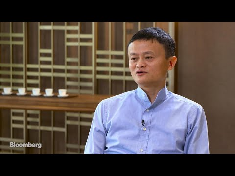 Alibaba's Jack Ma on Alipay, Tencent and Regulation
