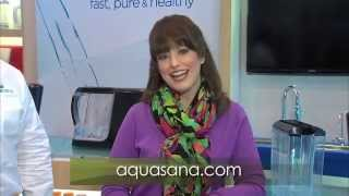 Aquasana Discusses Powered Water Filtration System on Housewares-TV (Emilie Barta, Producer/Host)